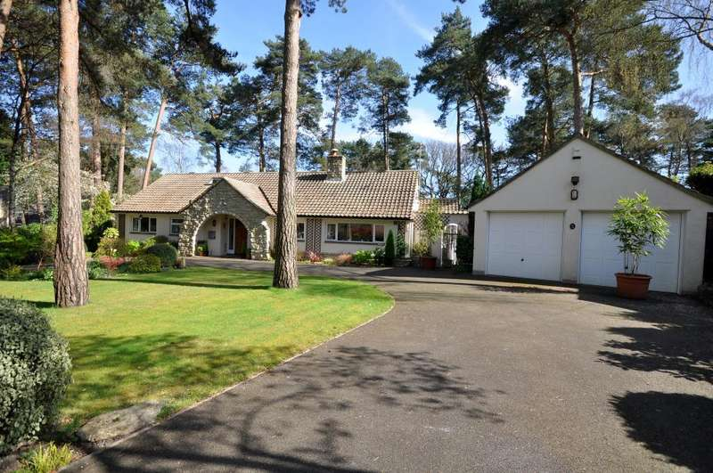 4 Bedrooms Detached Bungalow for sale in Ashley Heath, Ringwood, BH24 2JX