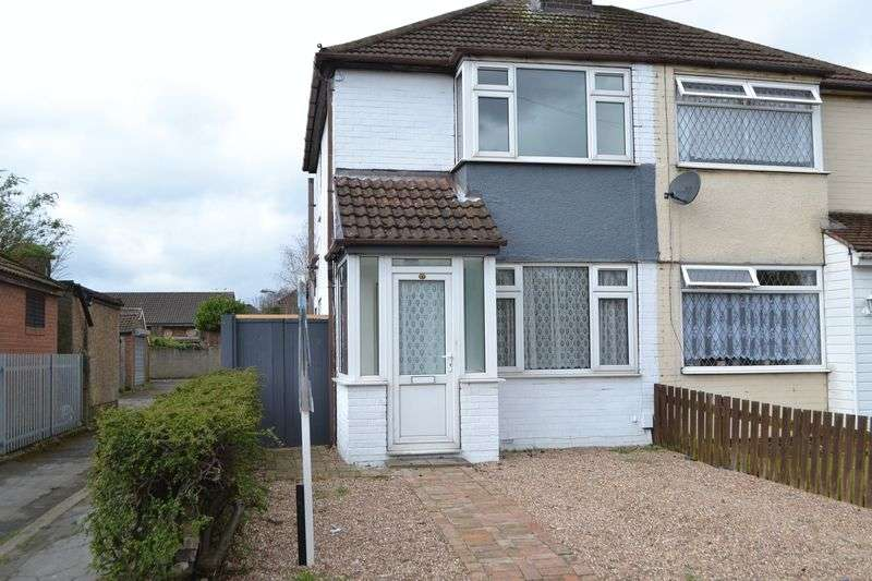2 Bedrooms Semi Detached House for sale in Sandhouse Crescent, Scunthorpe