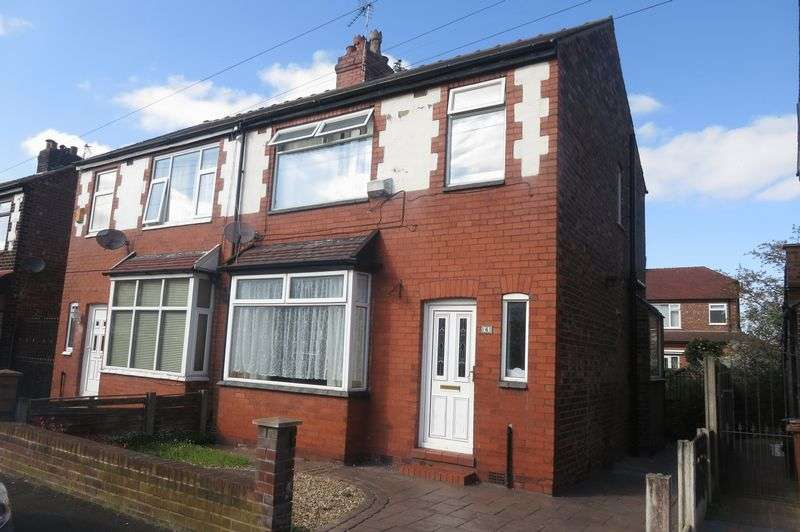 3 Bedrooms Semi Detached House for sale in Welbeck Road, Stockport