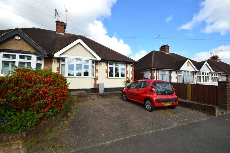 3 Bedrooms Semi Detached Bungalow for sale in Woodmere Avenue, Watford, WD24