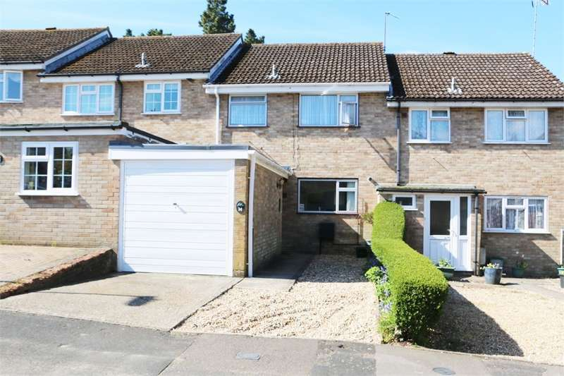3 Bedrooms Terraced House for sale in Bullsdown Close, Sherfield-on-Loddon, Hook, RG27