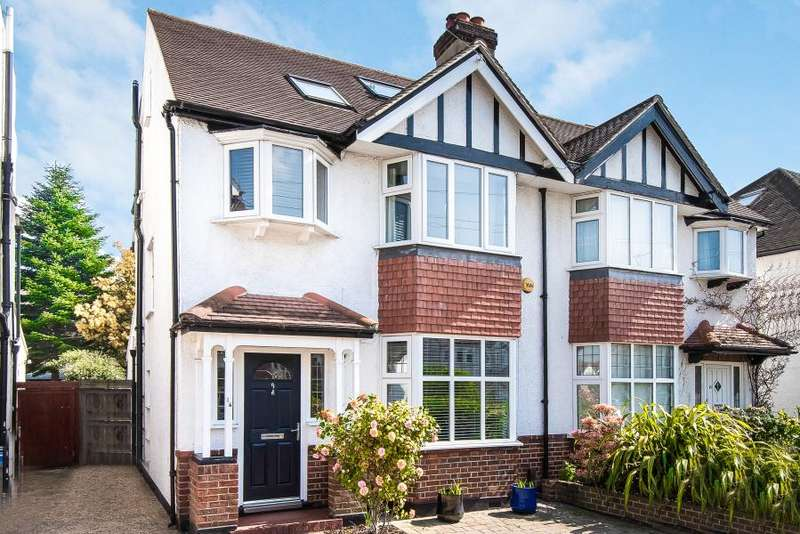4 Bedrooms Semi Detached House for sale in Cranleigh Gardens, Kingston upon Thames, KT2