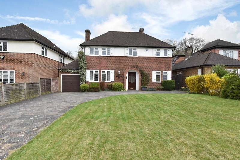 4 Bedrooms Detached House for sale in Pine Grove, Brookmans Park AL9