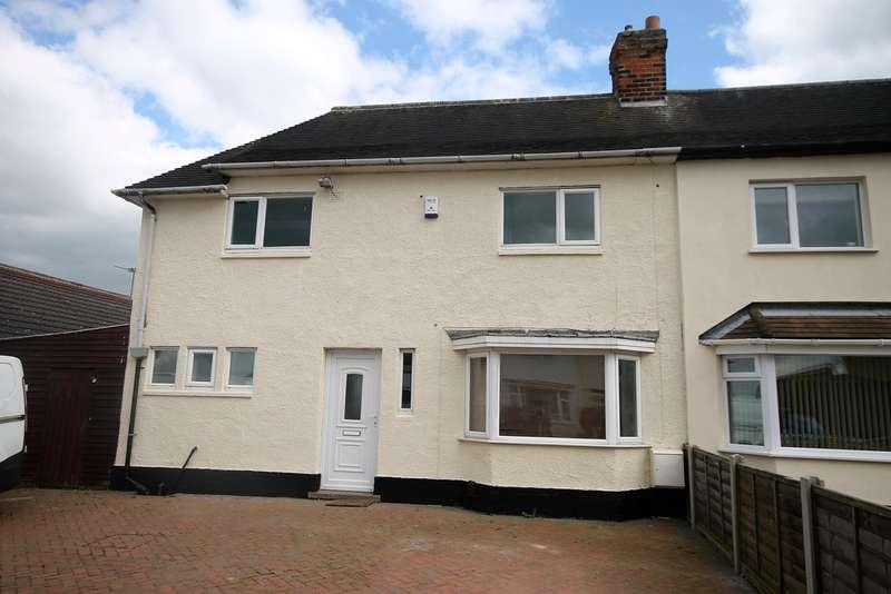3 Bedrooms Semi Detached House for sale in Gwendoline Avenue, Wykin, Hinckley