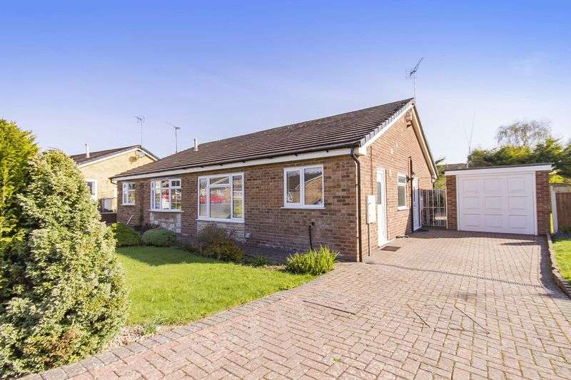 2 Bedrooms Semi Detached Bungalow for sale in ROYDON CLOSE, MICKLEOVER
