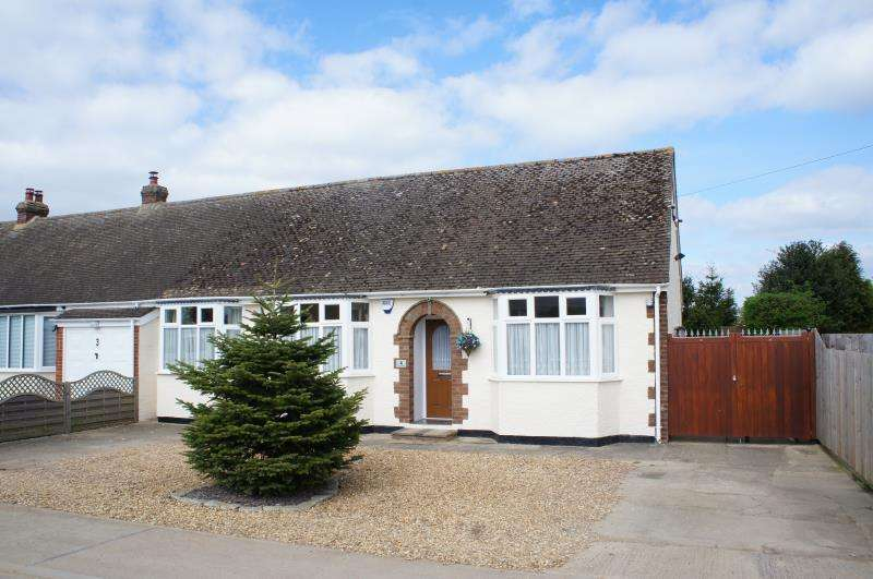 2 Bedrooms Semi Detached House for sale in Lodge Road, Cranfield, Bedfordshire