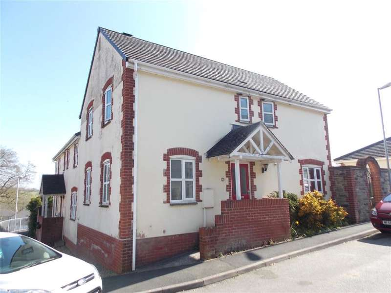 4 Bedrooms Semi Detached House for sale in Kensey Valley Meadow, Launceston, Cornwall