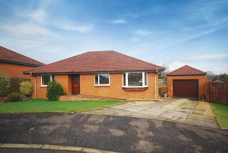 3 Bedrooms Detached Bungalow for sale in 25 Elms Drive, Maybole, KA19 8DT