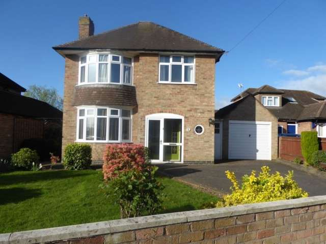 3 Bedrooms Detached House for sale in Spinney Hill Drive Loughborough