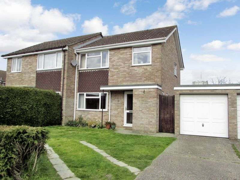 3 Bedrooms Semi Detached House for sale in Balfour Crescent, Newbury
