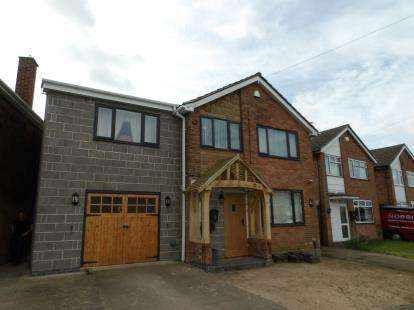 4 Bedrooms Detached House for sale in Valley Road, Ibstock