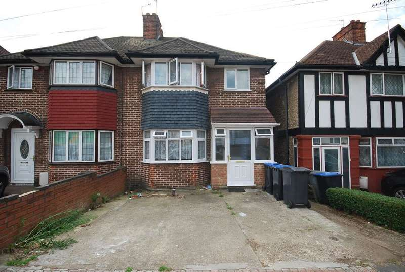 3 Bedrooms Semi Detached House for sale in TUDOR COURT SOUTH, WEMBLEY, MIDDLESEX, HA9 6SE