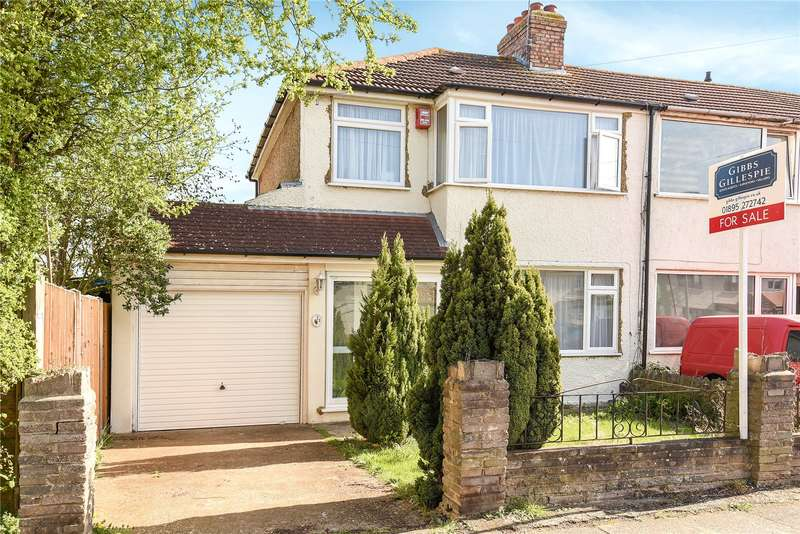 3 Bedrooms Semi Detached House for sale in Floriston Avenue, Uxbridge, Middlesex, UB10