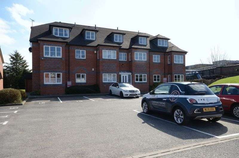 2 Bedrooms Flat for sale in Signal Court, Hoole, Chester