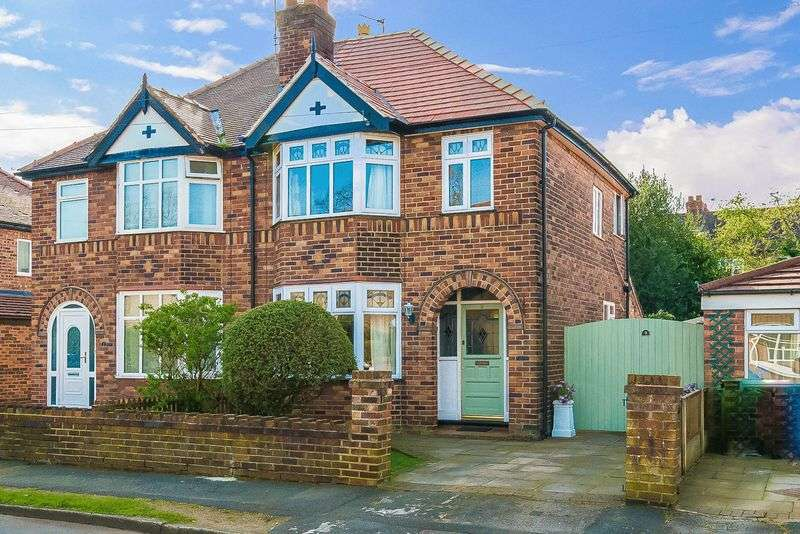 3 Bedrooms Semi Detached House for sale in Greenbank Gardens, Stockton Heath