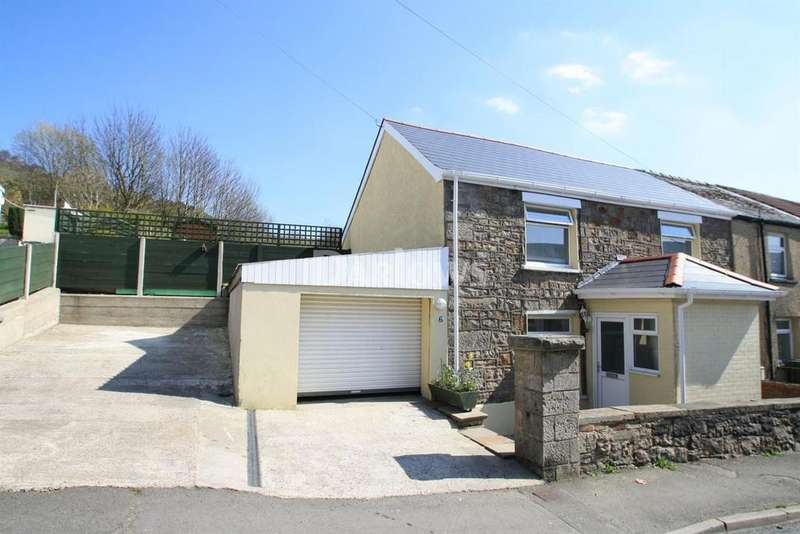 3 Bedrooms End Of Terrace House for sale in Caddicks Row, Blaina, Abertillery, Gwent