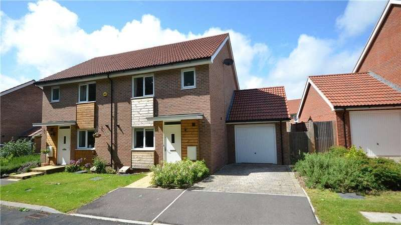 3 Bedrooms Semi Detached House for sale in Messner Street, Everest Park, Basingstoke, RG24