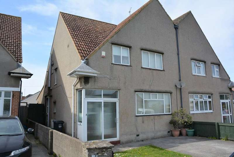 3 Bedrooms Semi Detached House for sale in Ridgeway Avenue, Weston-super-Mare