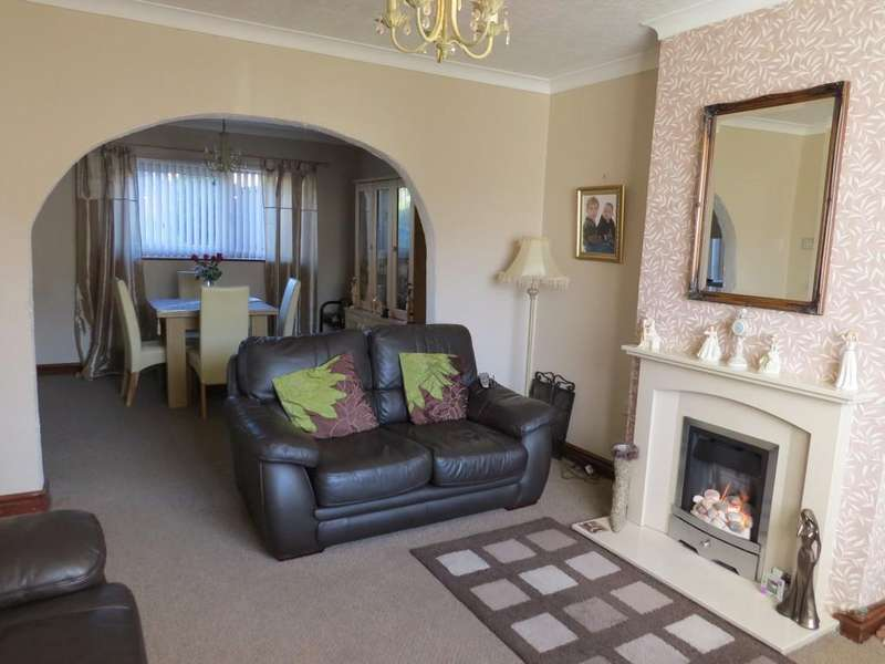 3 Bedrooms Semi Detached House for sale in Gable Road, Whitehaven, Cumbria