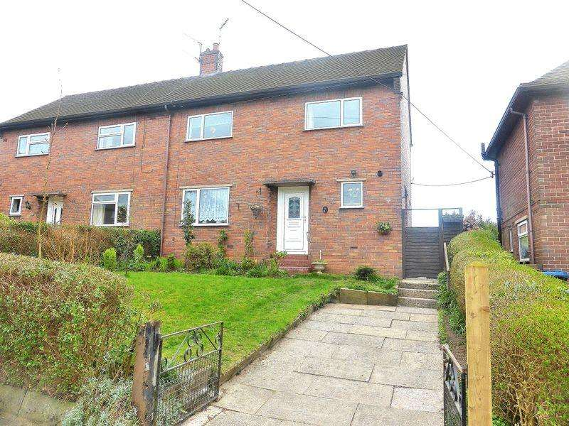 3 Bedrooms Semi Detached House for sale in Moorland Road, Cheddleton