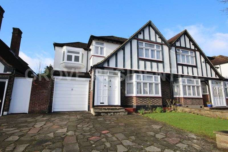4 Bedrooms Semi Detached House for sale in Kings Drive, Edgware, Greater London. HA8 8EB