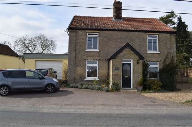 3 Bedrooms Detached House for sale in Broad Road, Bacton, Stowmarket, Suffolk