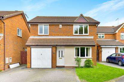 4 Bedrooms Detached House for sale in Whitton Way, Newport Pagnell, Milton Keynes, Bucks
