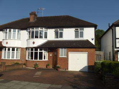 5 Bedrooms Semi Detached House for sale in Dinsdale Gardens, New Barnet, Barnet
