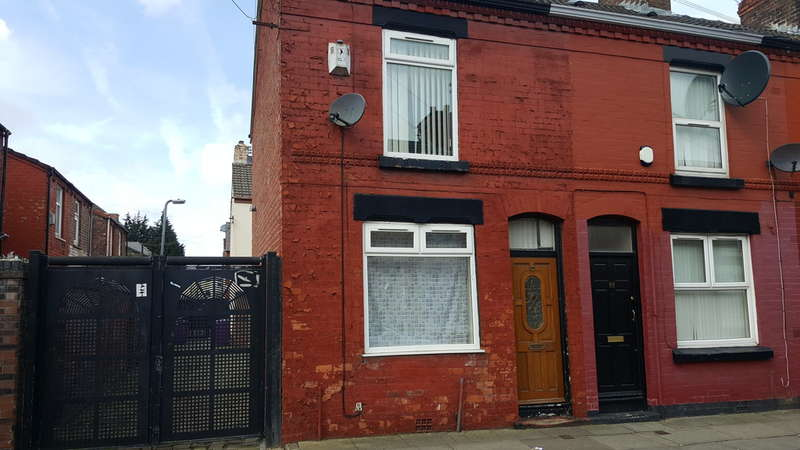 2 Bedrooms End Of Terrace House for sale in Herrick Street, Liverpool, L13