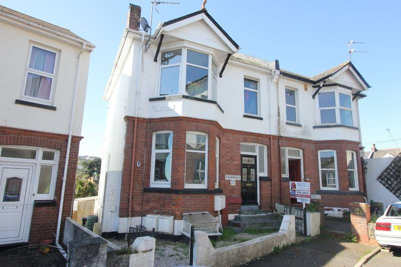 5 Bedrooms Semi Detached House for sale in Conway Road, Paignton
