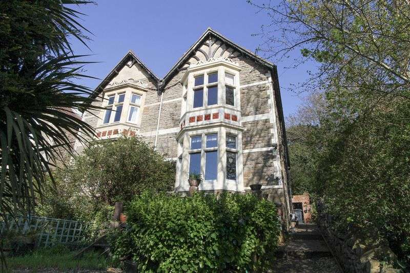 4 Bedrooms Semi Detached House for sale in Victoria Road, Clevedon