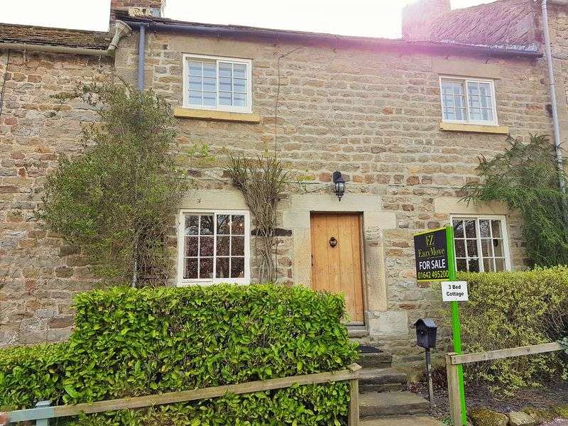3 Bedrooms Terraced House for sale in Constable Burton, Leyburn