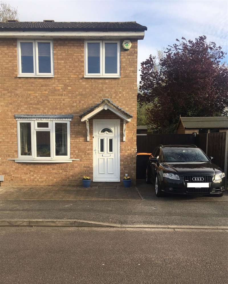 2 Bedrooms Semi Detached House for sale in Ripon Close, Kempston, BEDFORD, MK42