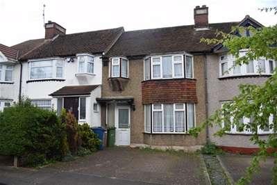 3 Bedrooms Terraced House for sale in Dryden Road, Harrow Weald