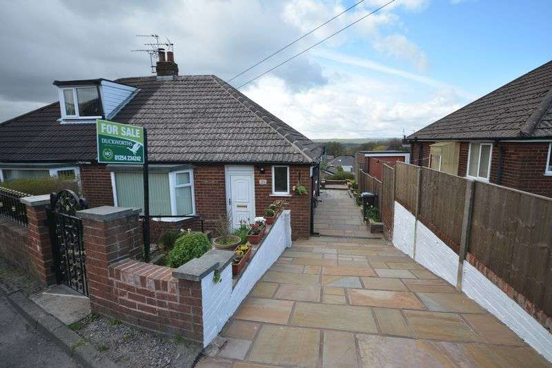 2 Bedrooms Semi Detached Bungalow for sale in Somerset Close, Oswaldtwistle