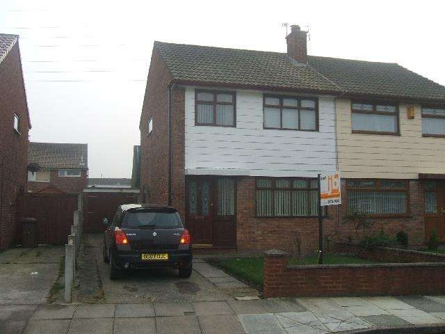 3 Bedrooms Semi Detached House for sale in Eastham Crescent Clock Face, St. Helens