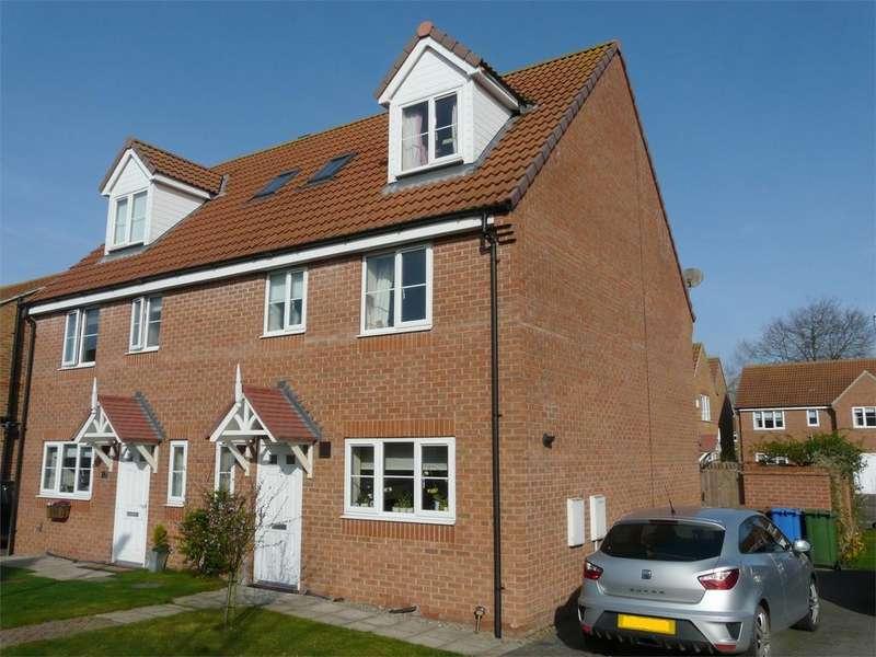 4 Bedrooms Semi Detached House for sale in Derek Vivian Close, Pocklington, York