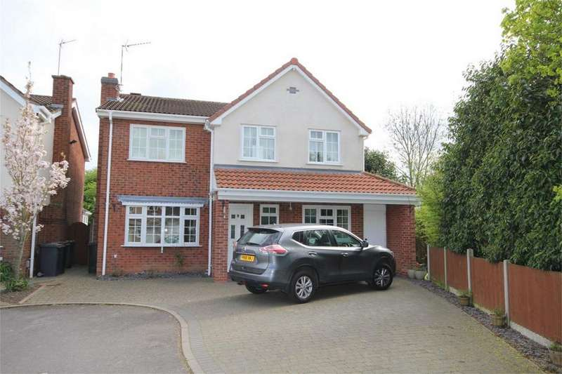 5 Bedrooms Detached House for sale in Wadebridge Drive, Horeston Grange, NUNEATON, Warwickshire