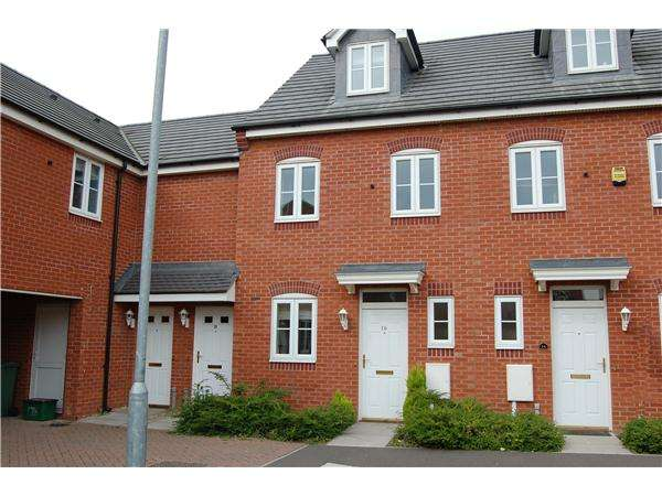 3 Bedrooms Terraced House for sale in Hatfield Close, Oakley Vale, Corby