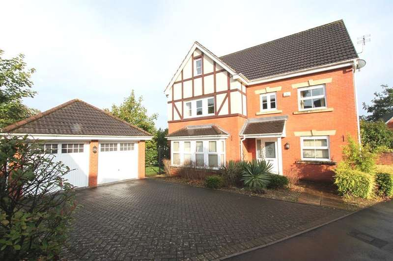 6 Bedrooms Detached House for sale in Nant Coch Rise, Ridgeway, Newport