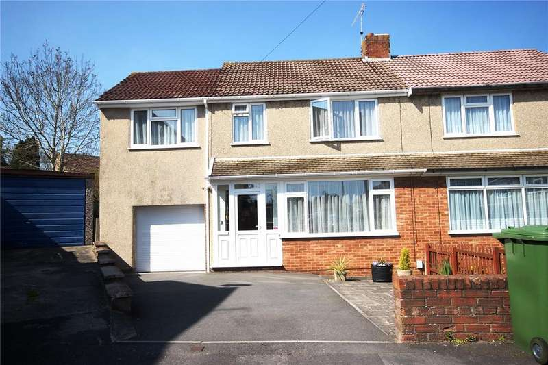 4 Bedrooms Semi Detached House for sale in Gages Close, Kingswood, Bristol, BS15