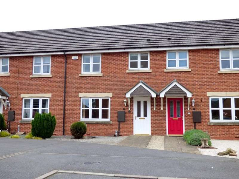 3 Bedrooms Terraced House for sale in Handel Mews, Ashbourne