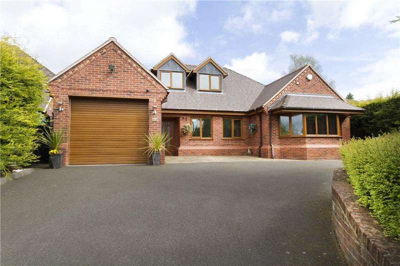 5 Bedrooms Detached Bungalow for sale in Hampton Grove, Kinver, Stourbridge, West Midlands, DY7