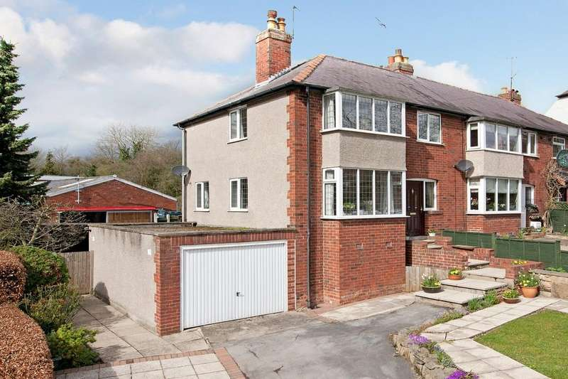 3 Bedrooms Semi Detached House for sale in Carr Bank, Otley