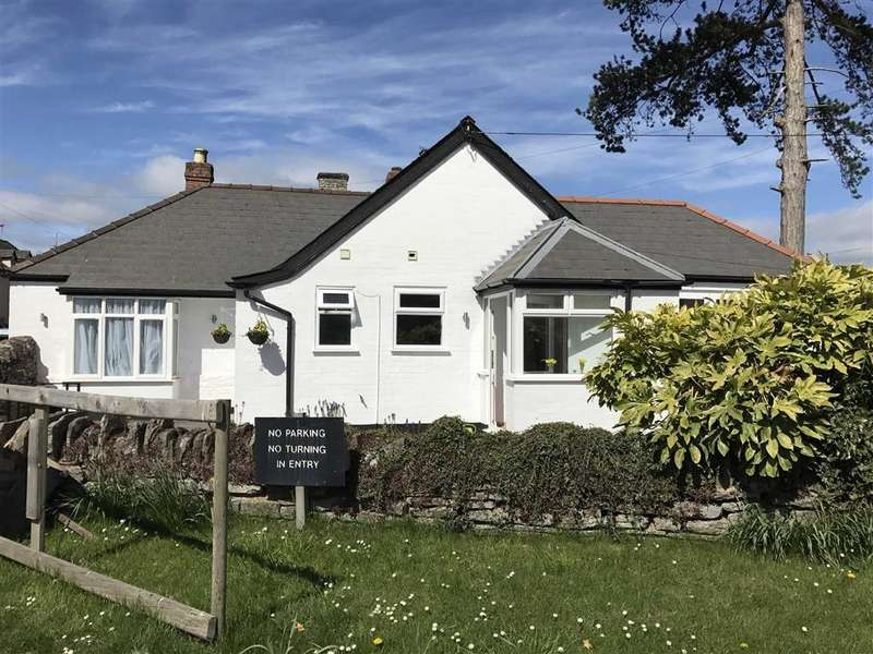 2 Bedrooms Detached Bungalow for sale in Church Road, EARDISLEY, Kington, Herefordshire