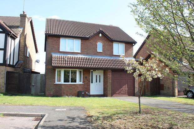 4 Bedrooms Detached House for sale in Furze Close, Luton, LU2