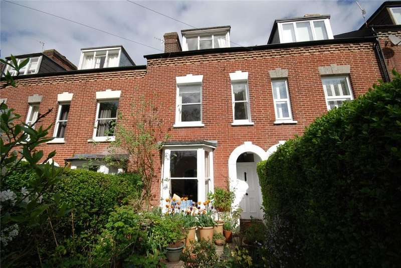 3 Bedrooms Terraced House for sale in Wyndham Terrace, Salisbury, Wiltshire, SP1