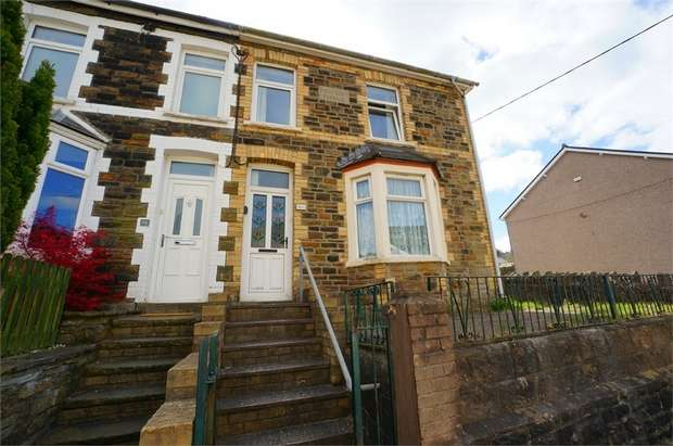 2 Bedrooms End Of Terrace House for sale in North Road, Pontywaun, NEWPORT