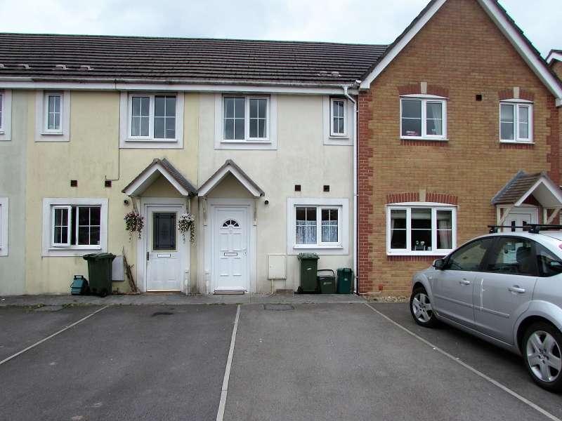 2 Bedrooms Terraced House for sale in Cynllan Avenue, Llanharan, Pontyclun, Rhondda, Cynon, Taff. CF72 9UL