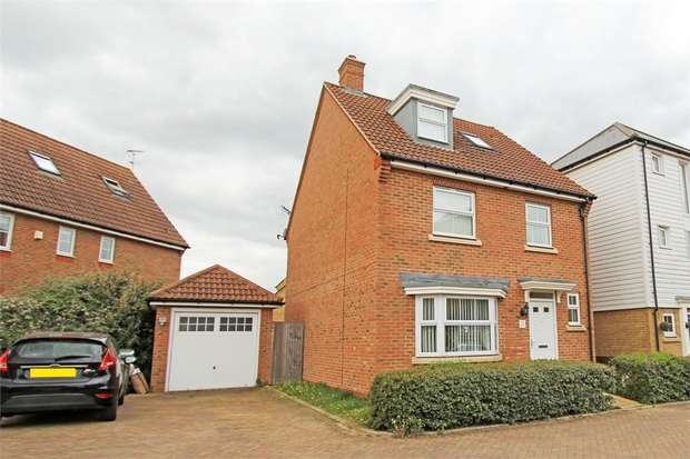 4 Bedrooms Detached House for sale in Marigold Drive, Sittingbourne, Kent